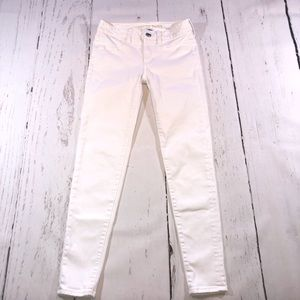 White American Eagle Jeggings